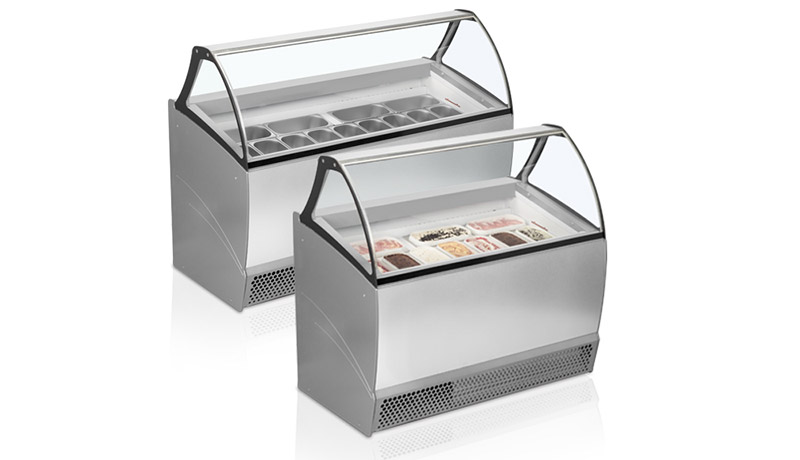 New ISA Bermuda Scoop Ice Cream Freezer